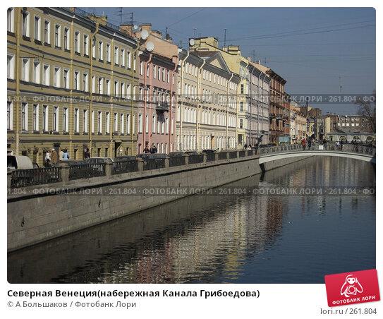Купить «Северная Венеция(набережная Канала Грибоедова)», фото № 261804, снято 5 апреля 2008 г. (c) A Большаков / Фотобанк Лори