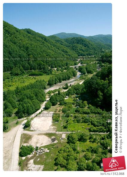 Купить «Северный Кавказ, ущелье», фото № 312068, снято 5 июня 2008 г. (c) Игорь Р / Фотобанк Лори