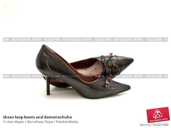 shoes loop boots and damenschuhe. Стоковое фото, фотограф Uwe Mayer / PantherMedia / Фотобанк Лори