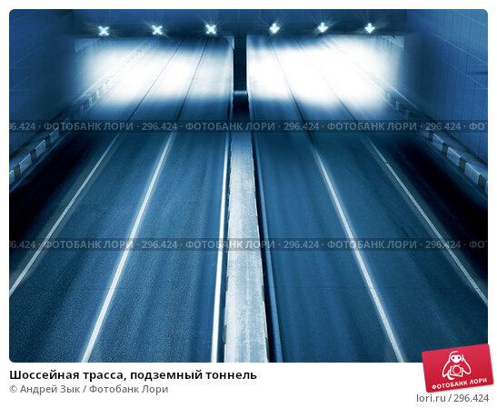 Купить «Шоссейная трасса, подземный тоннель», фото № 296424, снято 17 мая 2008 г. (c) Андрей Зык / Фотобанк Лори