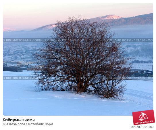 Купить «Сибирская зима», фото № 133180, снято 13 декабря 2017 г. (c) A.Козырева / Фотобанк Лори
