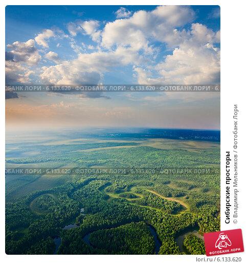 Сибирские просторы, фото № 6133620, снято 24 июля 2013 г. (c) Владимир Мельников / Фотобанк Лори