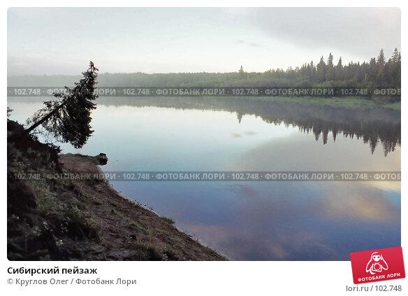 Сибирский пейзаж, фото № 102748, снято 22 января 2017 г. (c) Круглов Олег / Фотобанк Лори
