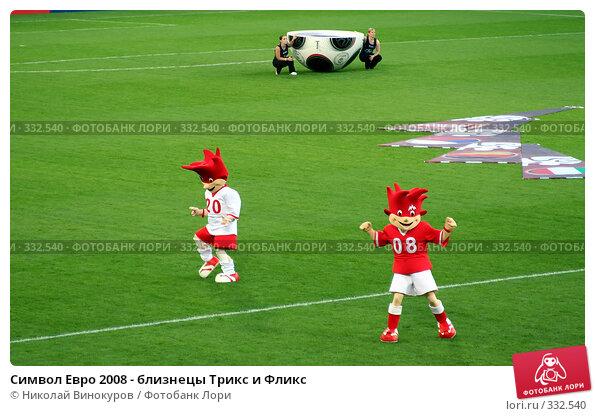 Купить «Символ Евро 2008 - близнецы Трикс и Фликс», эксклюзивное фото № 332540, снято 17 марта 2018 г. (c) Николай Винокуров / Фотобанк Лори