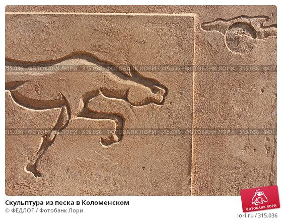 Скульптура из песка в Коломенском, фото № 315036, снято 8 июня 2008 г. (c) ФЕДЛОГ.РФ / Фотобанк Лори