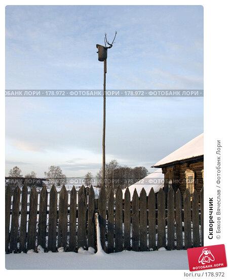 Купить «Скворечник», фото № 178972, снято 3 января 2008 г. (c) Бяков Вячеслав / Фотобанк Лори