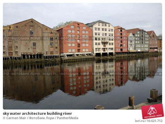 sky water architecture building river. Стоковое фото, фотограф Carmen Mair / PantherMedia / Фотобанк Лори