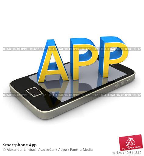 Smartphone App. Стоковое фото, фотограф Alexander Limbach / PantherMedia / Фотобанк Лори