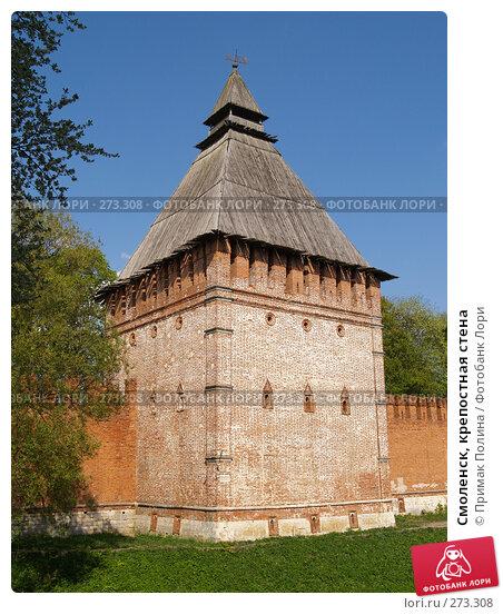 Смоленск, крепостная стена, фото № 273308, снято 5 мая 2008 г. (c) Примак Полина / Фотобанк Лори