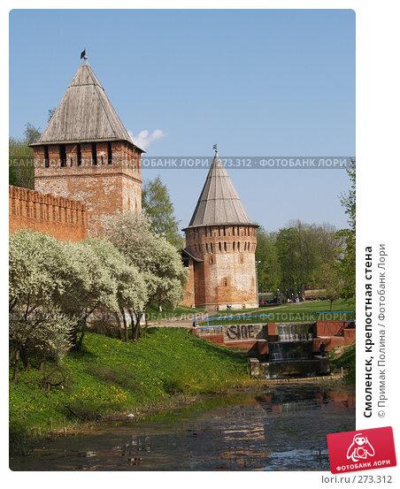 Купить «Смоленск, крепостная стена», фото № 273312, снято 5 мая 2008 г. (c) Примак Полина / Фотобанк Лори