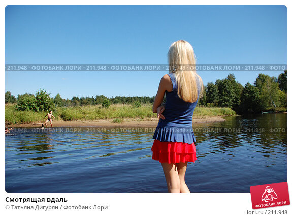 Смотрящая вдаль, фото № 211948, снято 11 августа 2007 г. (c) Татьяна Дигурян / Фотобанк Лори