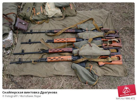 Купить «Снайперская винтовка Драгунова», фото № 666472, снято 2 апреля 2008 г. (c) FotograFF / Фотобанк Лори