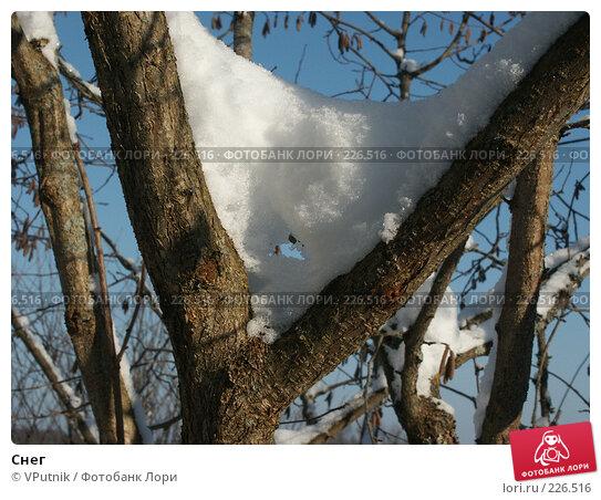 Снег, фото № 226516, снято 8 февраля 2007 г. (c) VPutnik / Фотобанк Лори