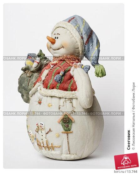 Снеговик, фото № 13744, снято 30 ноября 2006 г. (c) Лисовская Наталья / Фотобанк Лори