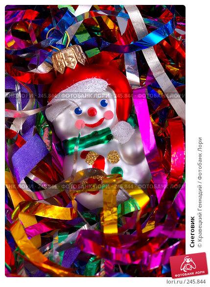 Купить «Снеговик», фото № 245844, снято 19 марта 2018 г. (c) Кравецкий Геннадий / Фотобанк Лори