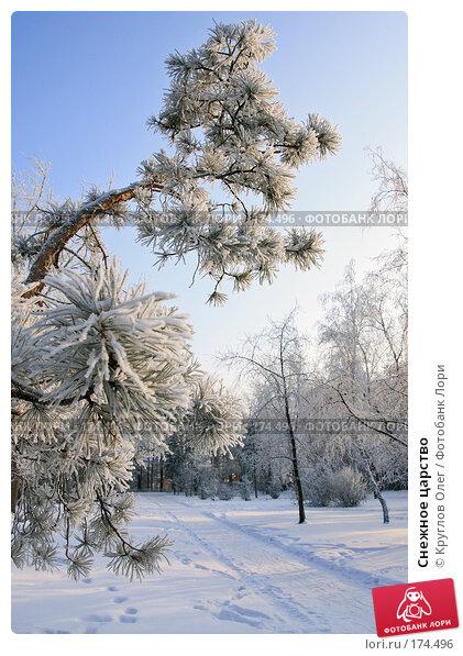 Купить «Снежное царство», фото № 174496, снято 12 января 2008 г. (c) Круглов Олег / Фотобанк Лори