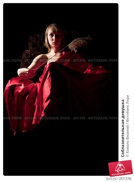 Купить «Соблазнительная девушка», фото № 257576, снято 9 октября 2007 г. (c) Коваль Василий / Фотобанк Лори