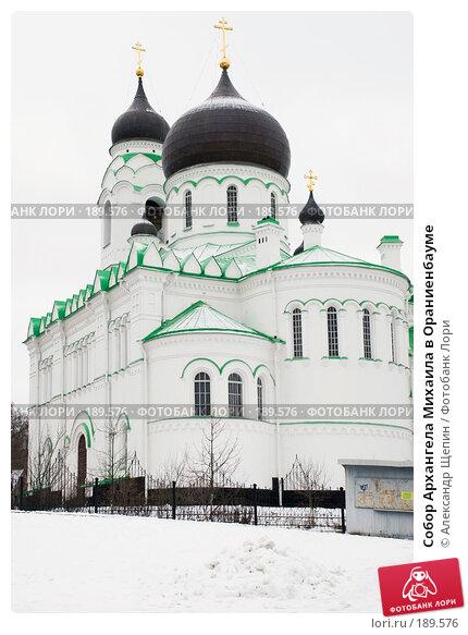 Собор Архангела Михаила в Ораниенбауме, эксклюзивное фото № 189576, снято 27 января 2008 г. (c) Александр Щепин / Фотобанк Лори