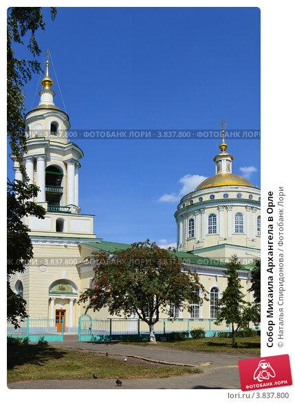 Купить «Собор Михаила Архангела в Орле», фото № 3837800, снято 7 августа 2012 г. (c) Наталья Спиридонова / Фотобанк Лори