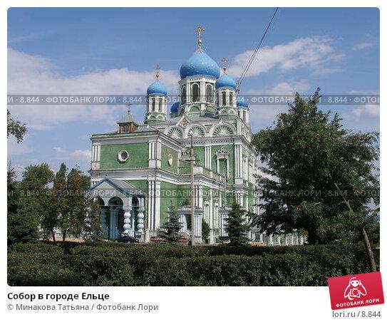 Собор в городе Ельце, фото № 8844, снято 3 августа 2005 г. (c) Минакова Татьяна / Фотобанк Лори