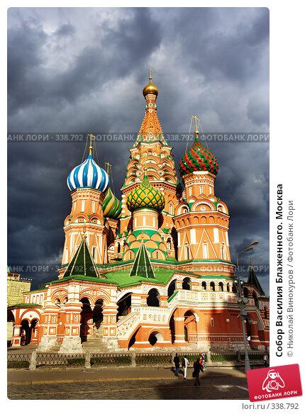 Собор Василия Блаженного. Москва, фото № 338792, снято 21 января 2017 г. (c) Николай Винокуров / Фотобанк Лори