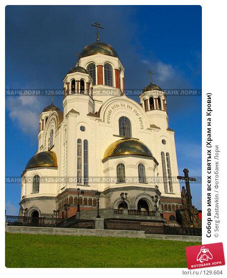 Собор во имя всех святых (Храм на Крови), фото № 129604, снято 7 июня 2005 г. (c) Serg Zastavkin / Фотобанк Лори