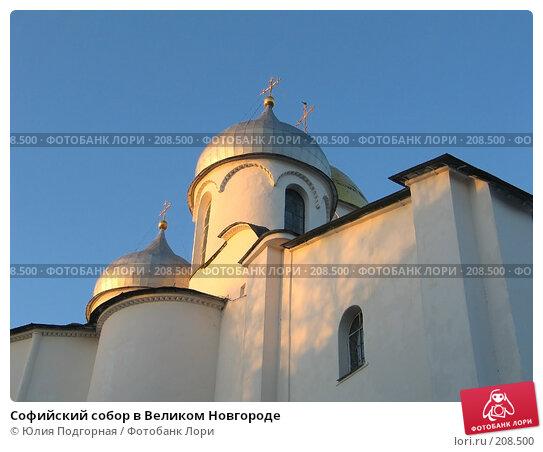 Софийский собор в Великом Новгороде, фото № 208500, снято 13 декабря 2004 г. (c) Юлия Селезнева / Фотобанк Лори