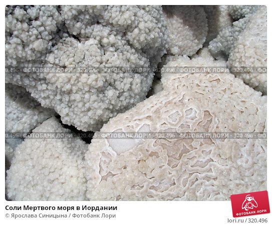 Соли Мертвого моря в Иордании, фото № 320496, снято 6 июня 2007 г. (c) Ярослава Синицына / Фотобанк Лори