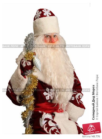 Солидный Дед Мороз, фото № 48776, снято 23 октября 2005 г. (c) Сергей Байков / Фотобанк Лори