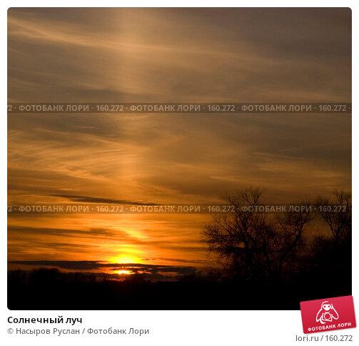 Купить «Солнечный луч», фото № 160272, снято 21 октября 2007 г. (c) Насыров Руслан / Фотобанк Лори