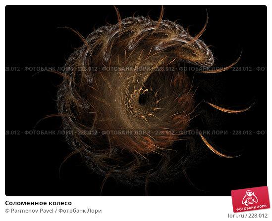 Соломенное колесо, иллюстрация № 228012 (c) Parmenov Pavel / Фотобанк Лори