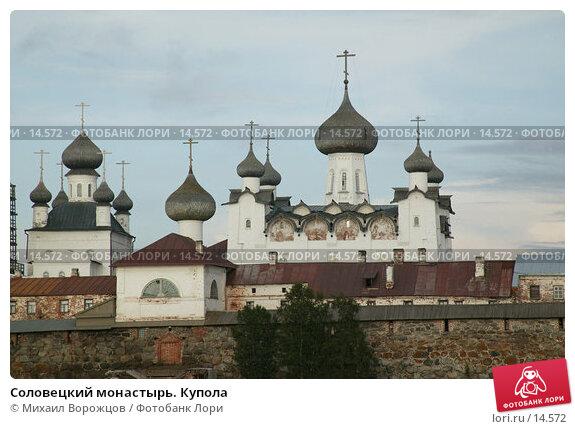 Соловецкий монастырь. Купола, фото № 14572, снято 18 августа 2007 г. (c) Михаил Ворожцов / Фотобанк Лори