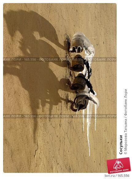 Сосульки, фото № 165556, снято 1 марта 2006 г. (c) Морозова Татьяна / Фотобанк Лори
