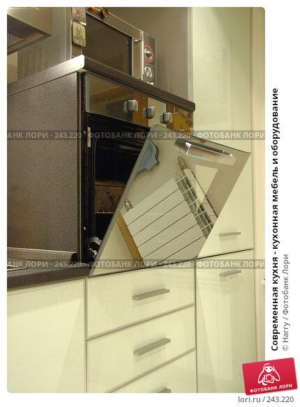 Купить «Современная кухня - кухонная мебель и оборудование», фото № 243220, снято 26 мая 2005 г. (c) Harry / Фотобанк Лори