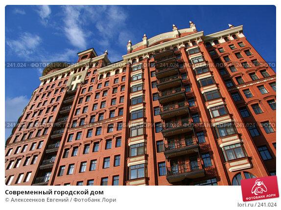 Современный городской дом, фото № 241024, снято 21 марта 2008 г. (c) Алексеенков Евгений / Фотобанк Лори