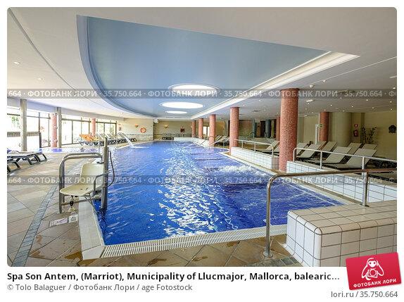 Spa Son Antem, (Marriot), Municipality of Llucmajor, Mallorca, balearic... (2017 год). Редакционное фото, фотограф Tolo Balaguer / age Fotostock / Фотобанк Лори
