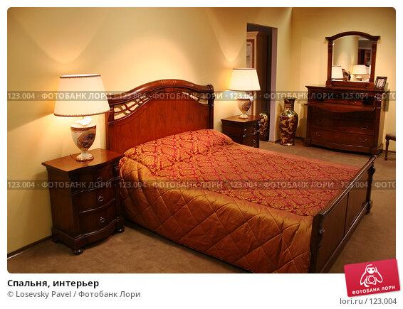 Спальня, интерьер, фото № 123004, снято 24 марта 2006 г. (c) Losevsky Pavel / Фотобанк Лори