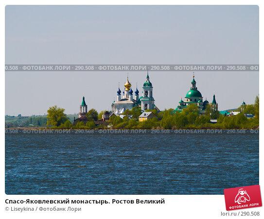 Купить «Спасо-Яковлевский монастырь. Ростов Великий», фото № 290508, снято 9 мая 2008 г. (c) Liseykina / Фотобанк Лори