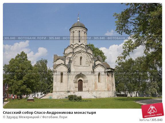 Спасский собор Спасо-Андроникова монастыря, фото № 305840, снято 18 мая 2008 г. (c) Эдуард Межерицкий / Фотобанк Лори