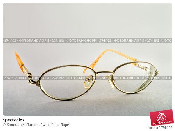 Spectacles, фото № 274192, снято 21 декабря 2006 г. (c) Константин Тавров / Фотобанк Лори