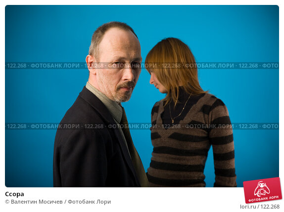 Купить «Ссора», фото № 122268, снято 2 мая 2007 г. (c) Валентин Мосичев / Фотобанк Лори