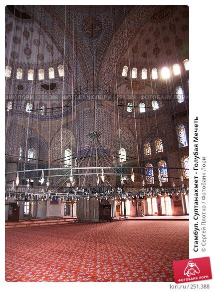 Стамбул. Султанахмет - Голубая Мечеть, фото № 251388, снято 31 августа 2007 г. (c) Сергей Плотко / Фотобанк Лори