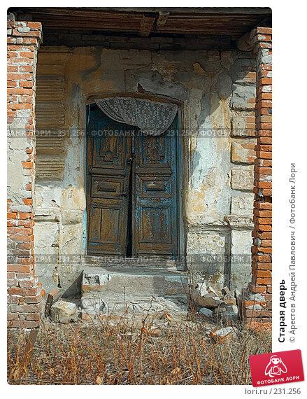 Купить «Старая дверь», фото № 231256, снято 9 марта 2008 г. (c) Арестов Андрей Павлович / Фотобанк Лори
