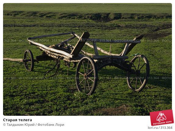 Купить «Старая телега», фото № 313364, снято 16 мая 2008 г. (c) Талдыкин Юрий / Фотобанк Лори