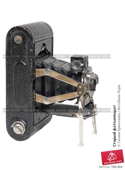 Старый фотоаппарат, фото № 188464, снято 2 января 2008 г. (c) Галина Ермолаева / Фотобанк Лори