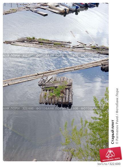 Старый плот, фото № 322600, снято 22 мая 2008 г. (c) Parmenov Pavel / Фотобанк Лори