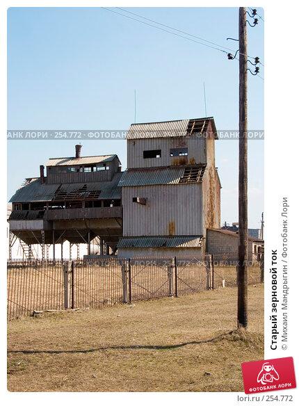 Старый зерновой ток, фото № 254772, снято 12 апреля 2008 г. (c) Михаил Мандрыгин / Фотобанк Лори