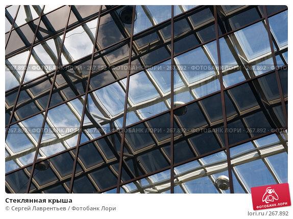 Стеклянная крыша, фото № 267892, снято 26 апреля 2008 г. (c) Сергей Лаврентьев / Фотобанк Лори