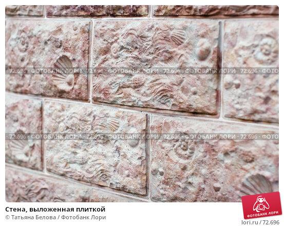 Купить «Стена, выложенная плиткой», эксклюзивное фото № 72696, снято 7 июля 2007 г. (c) Татьяна Белова / Фотобанк Лори