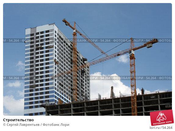 Строительство, фото № 54264, снято 14 июня 2007 г. (c) Сергей Лаврентьев / Фотобанк Лори
